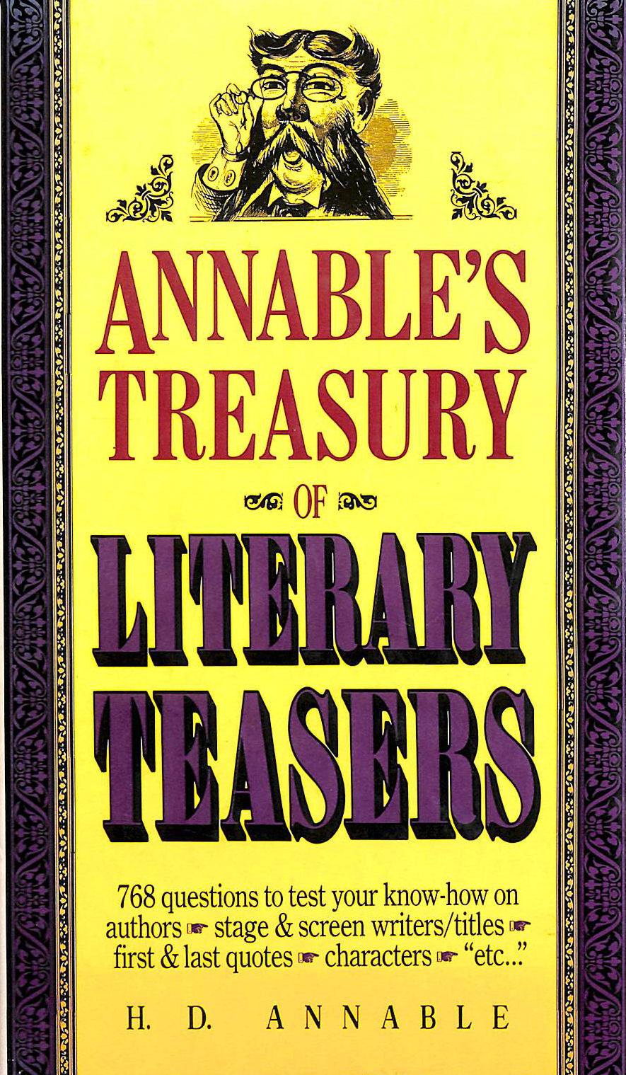 Image for Treasury of Literary Teasers