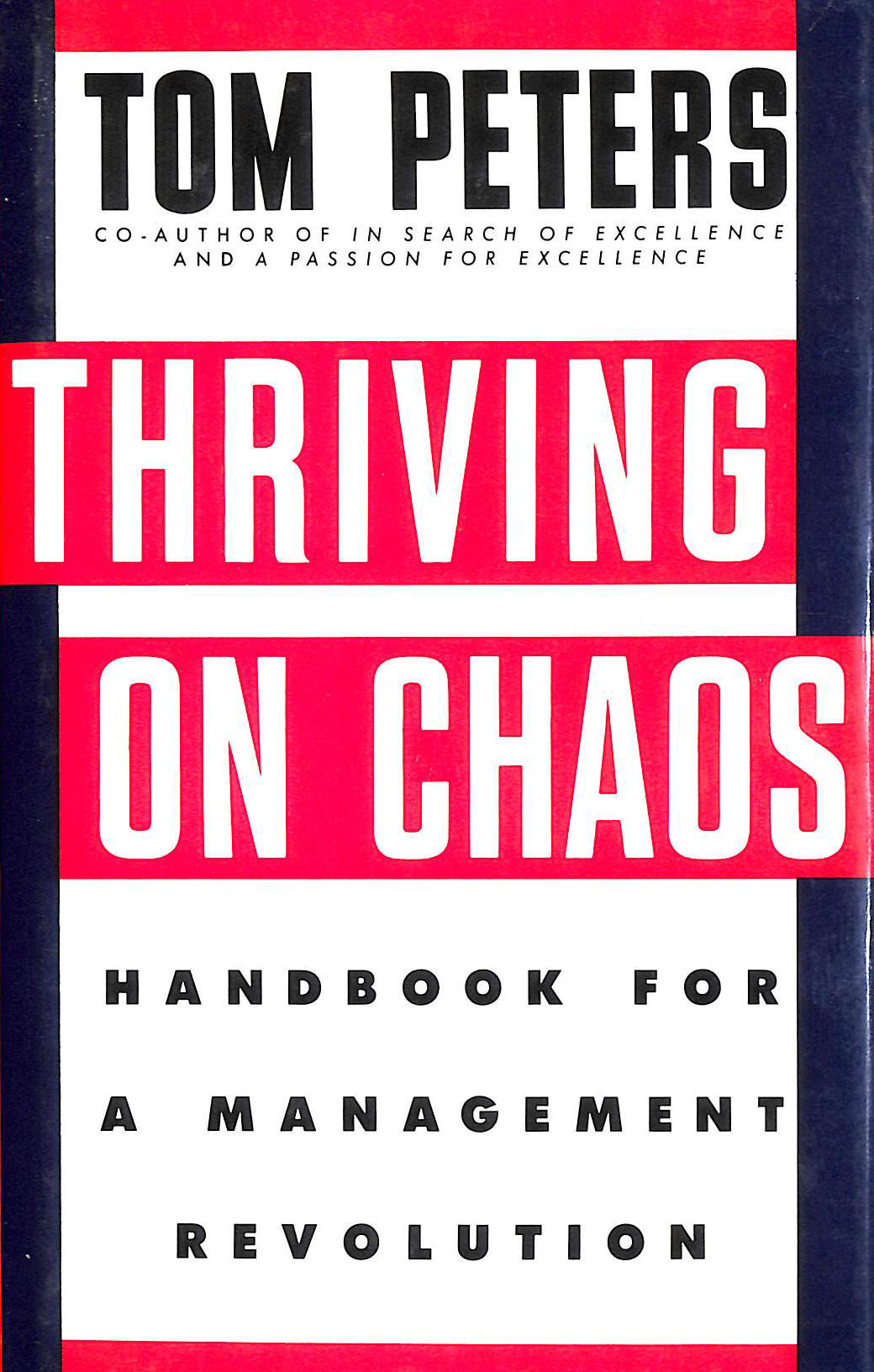Image for Thriving on Chaos