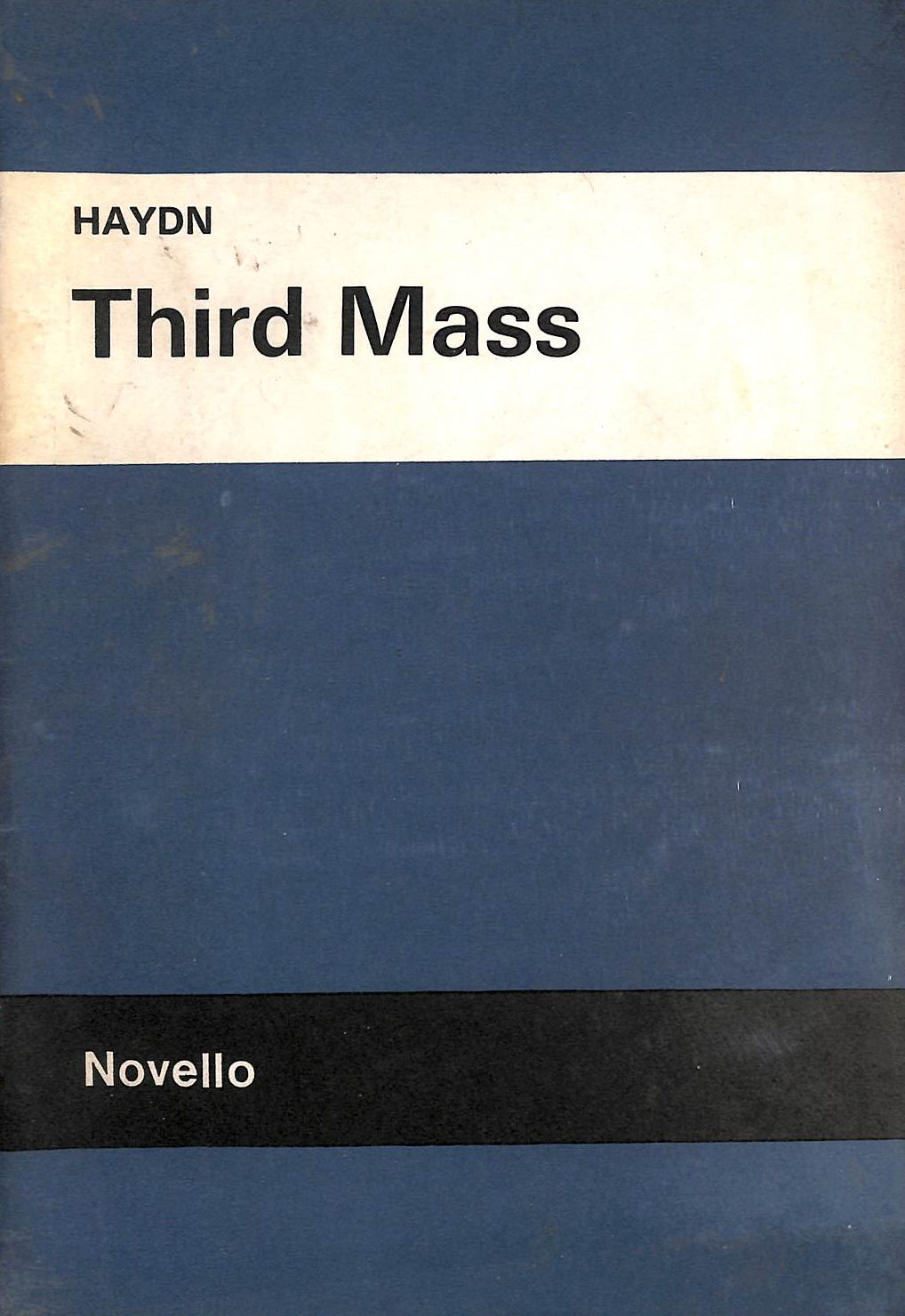 Image for Third Mass (The Imperial), in Vocal Score (Novello's Original Octavo Edition)