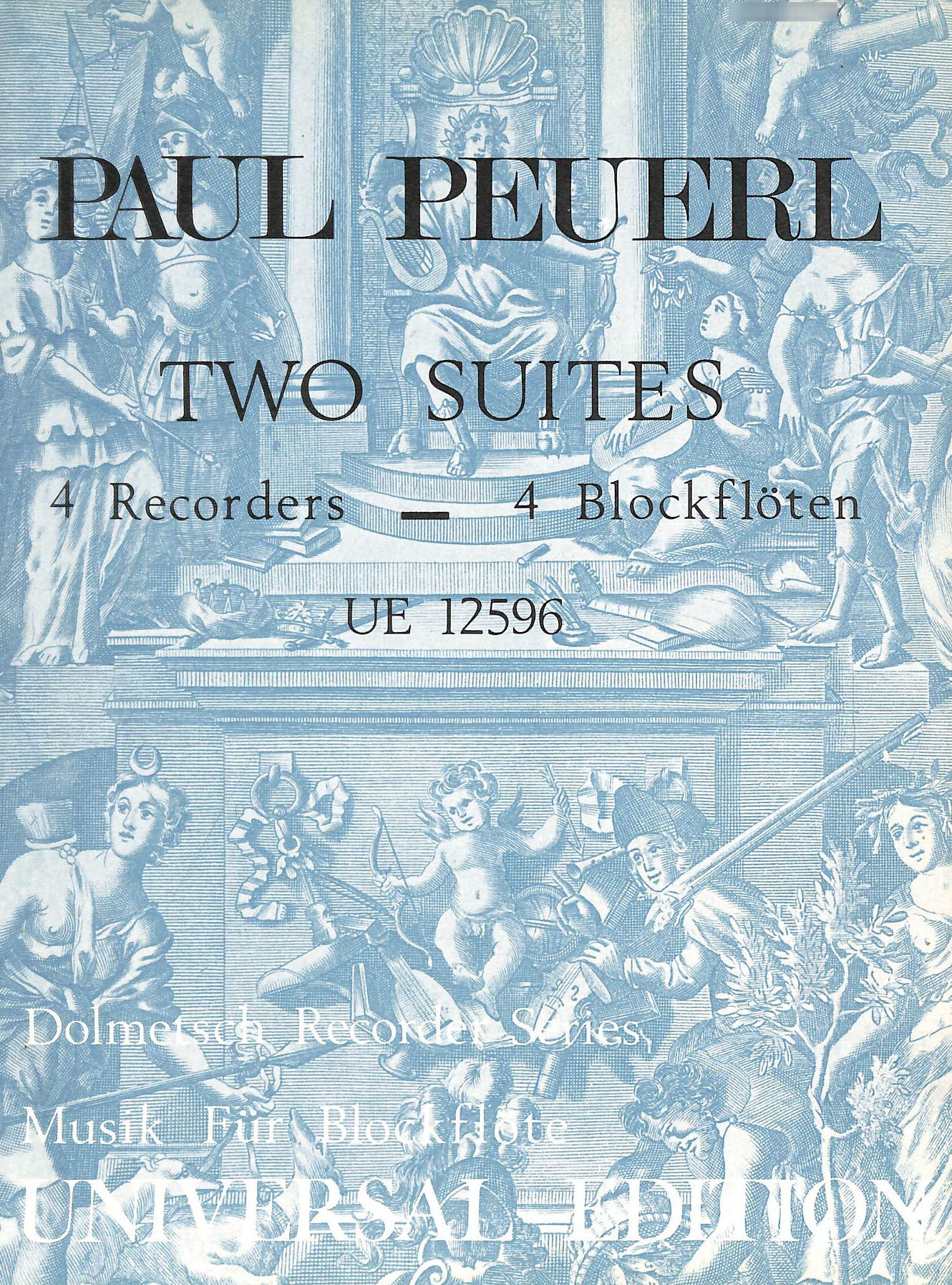 Image for Two Suites for Four Recorders (Dolmetsch Recorder Series)