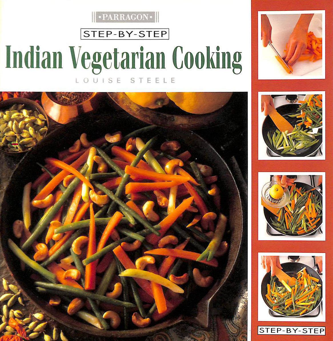 Image for Indian Vegetarian Cooking (Step-by-Step)