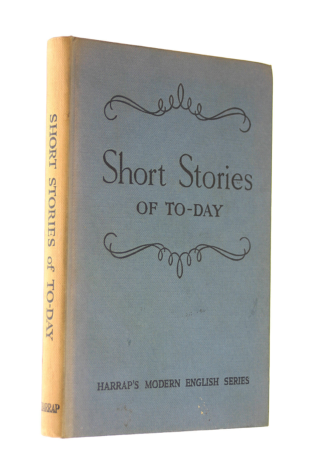 Image for Short Stories Of To-Day (Harrap'S Modern English Series)