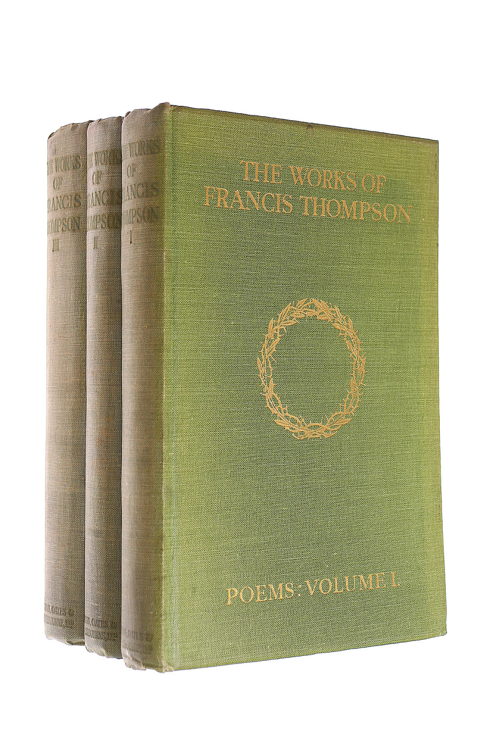 Image for The Works Of Francis Thompson - [Complete In 3 Volumes]