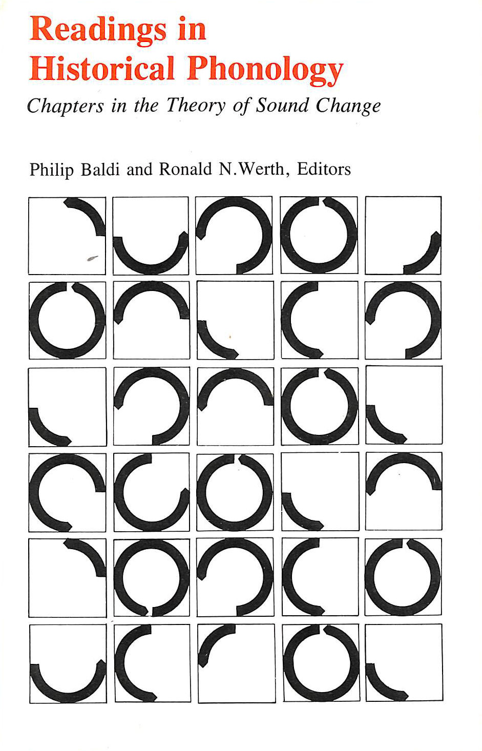 Image for Readings in Historical Phonology