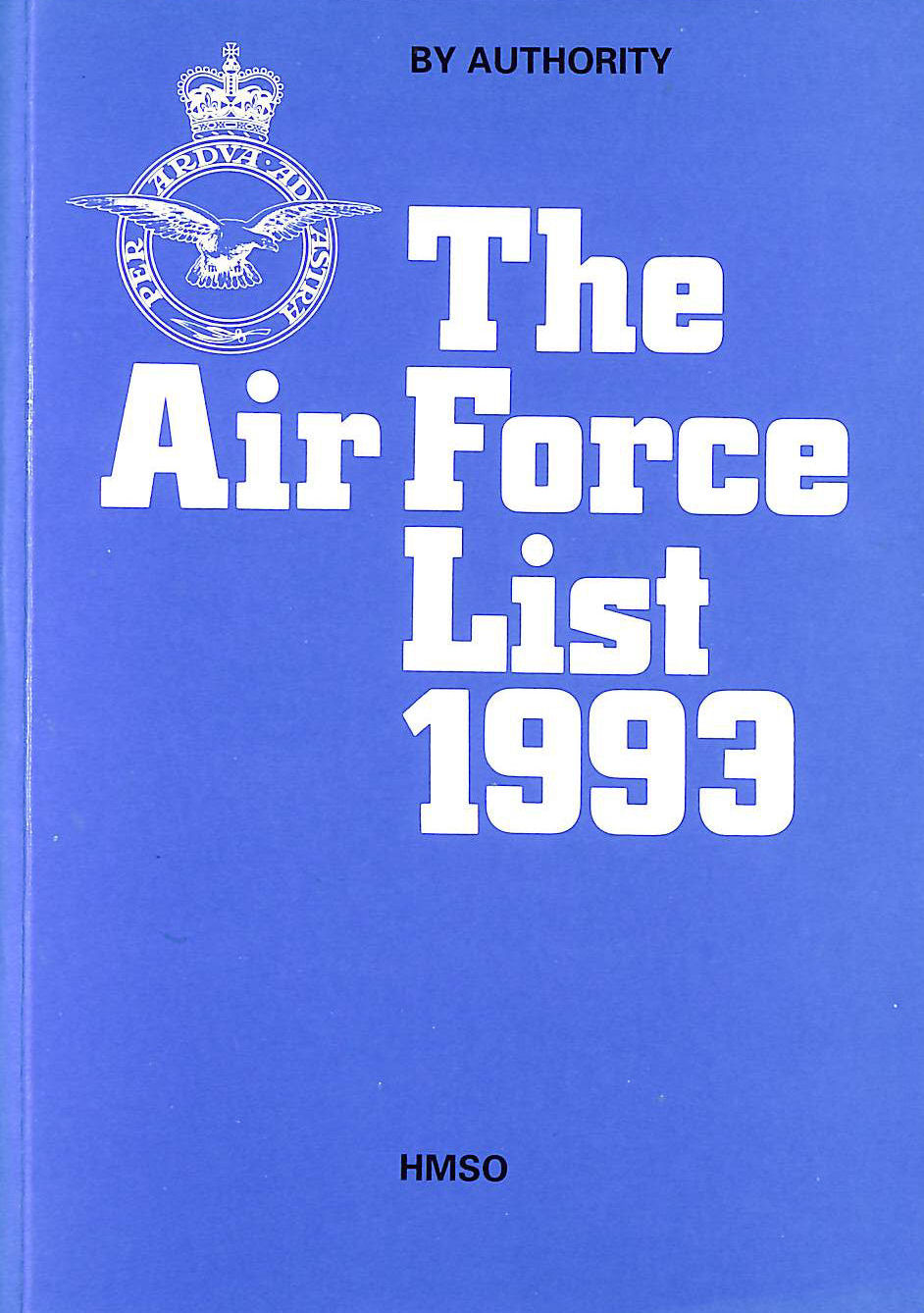 Image for The Air Force List 1999