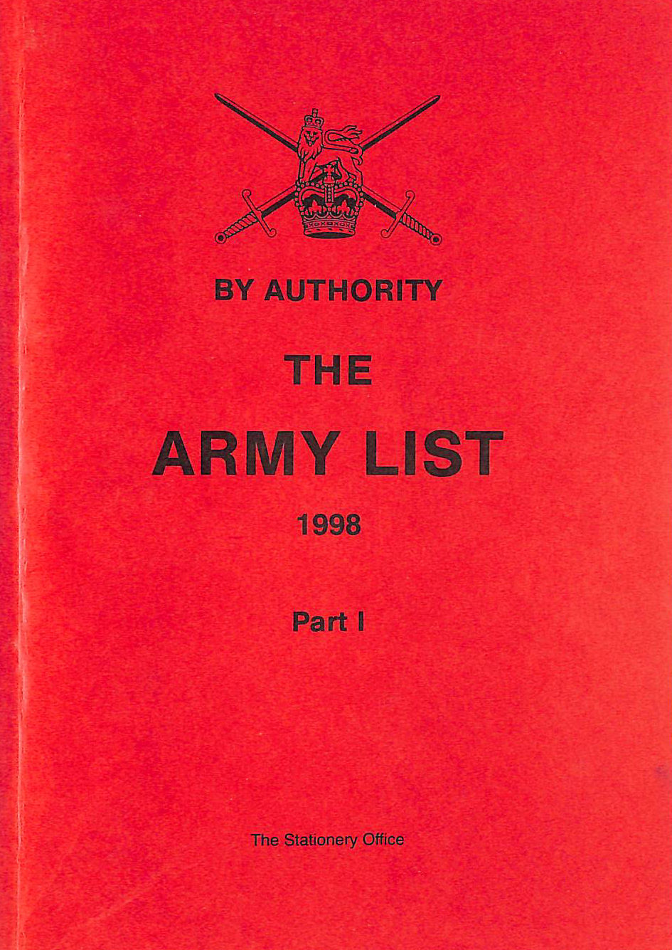 Image for The Army List: Pt. 1