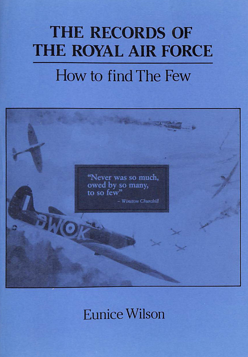 Image for Records of the Royal Air Force: How to Find the Few