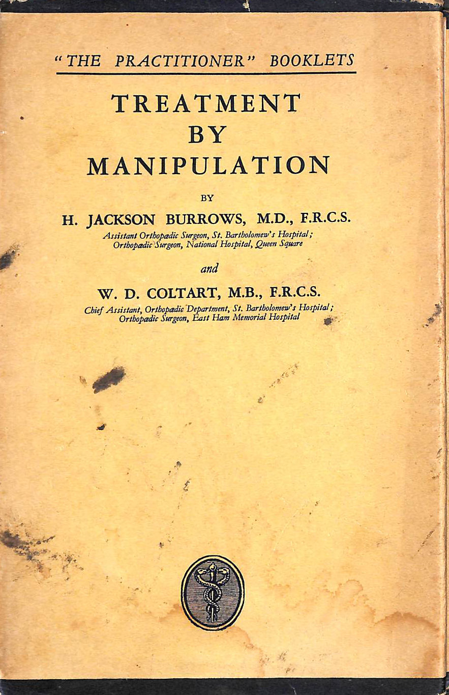 Image for Treatment By Manipulation
