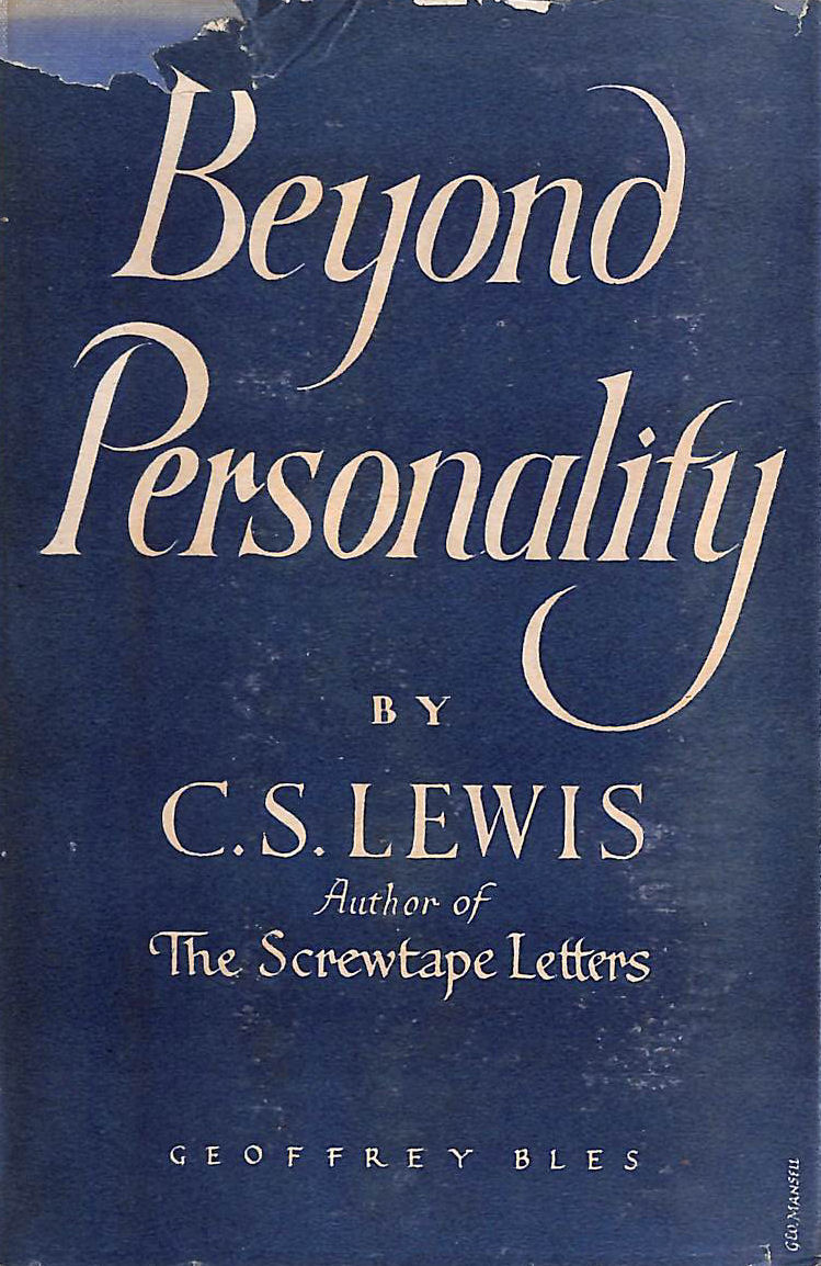 Image for Beyond Personality