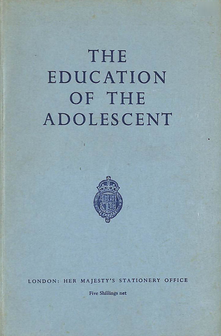 Image for The Education of the Adolescent