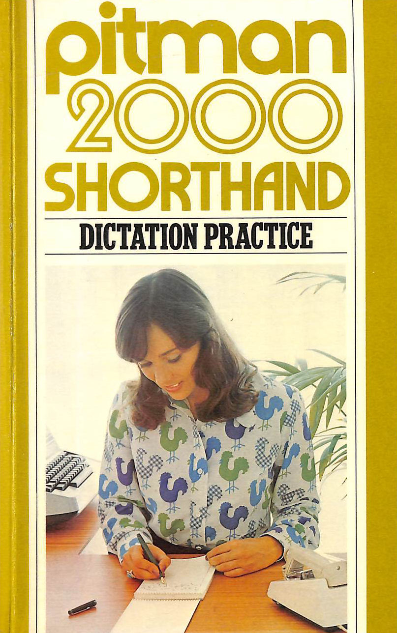 Image for Pitman 2000 Shorthand Dictation Practice