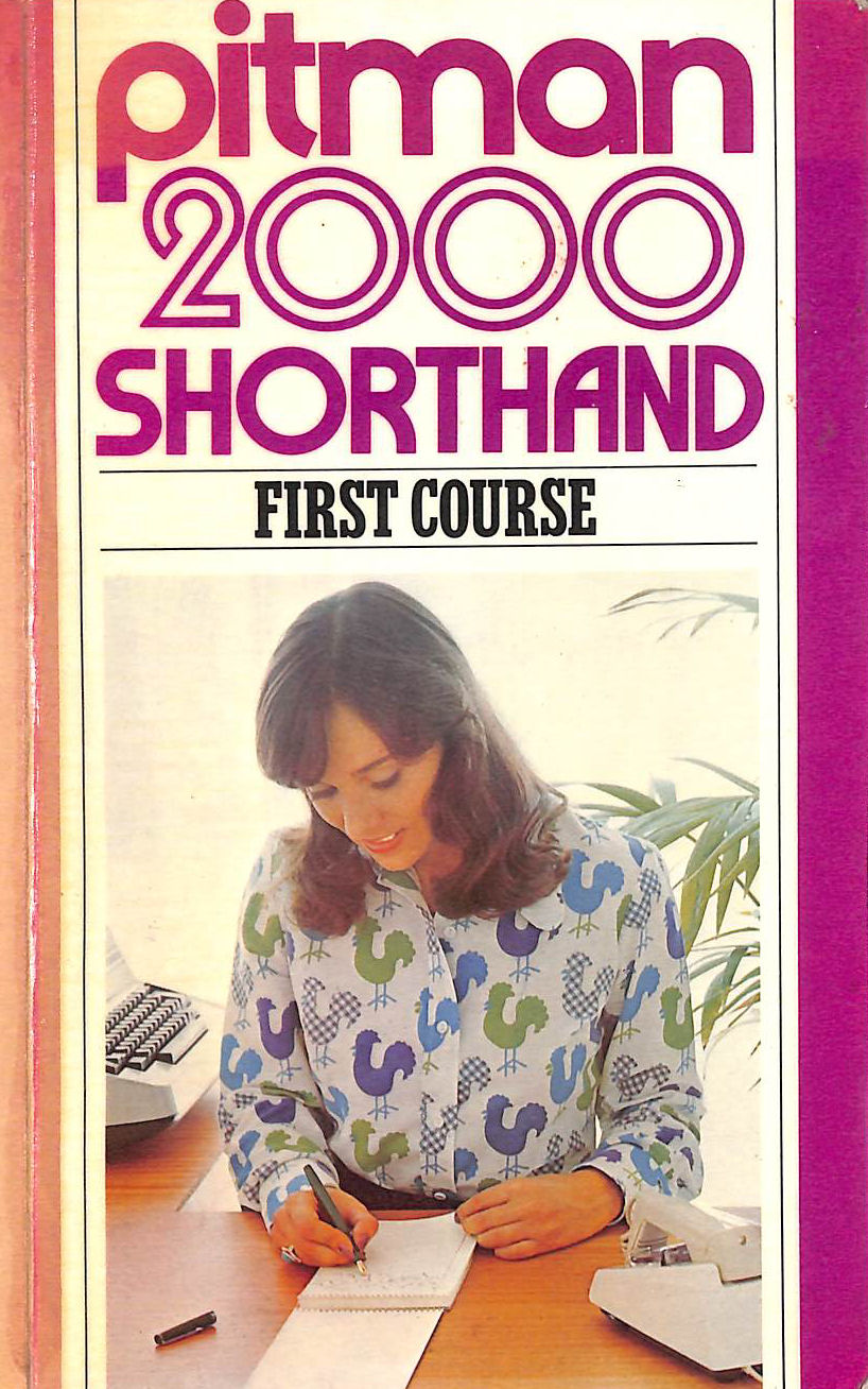 Image for Pitman 2000: Shorthand First Course