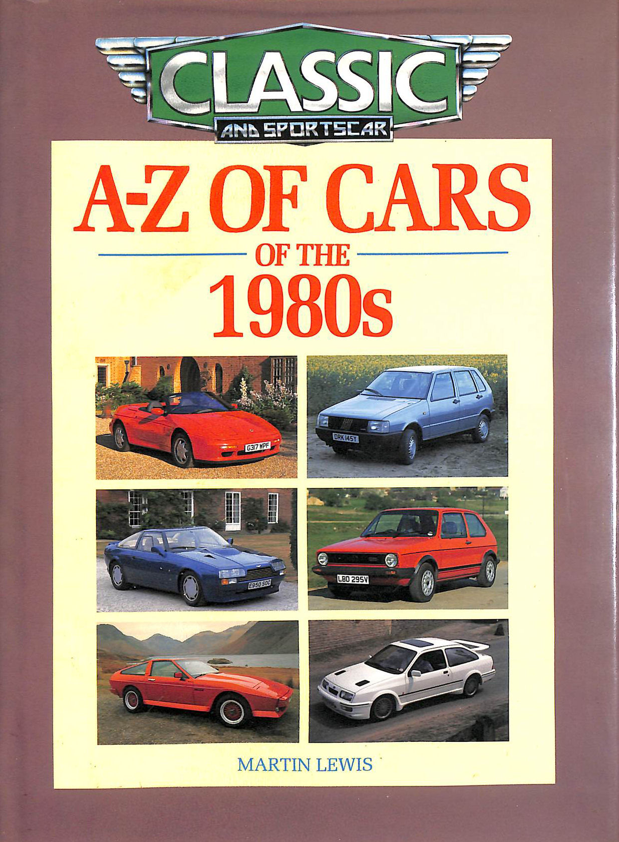 Image for A-Z of Cars of the 1980s