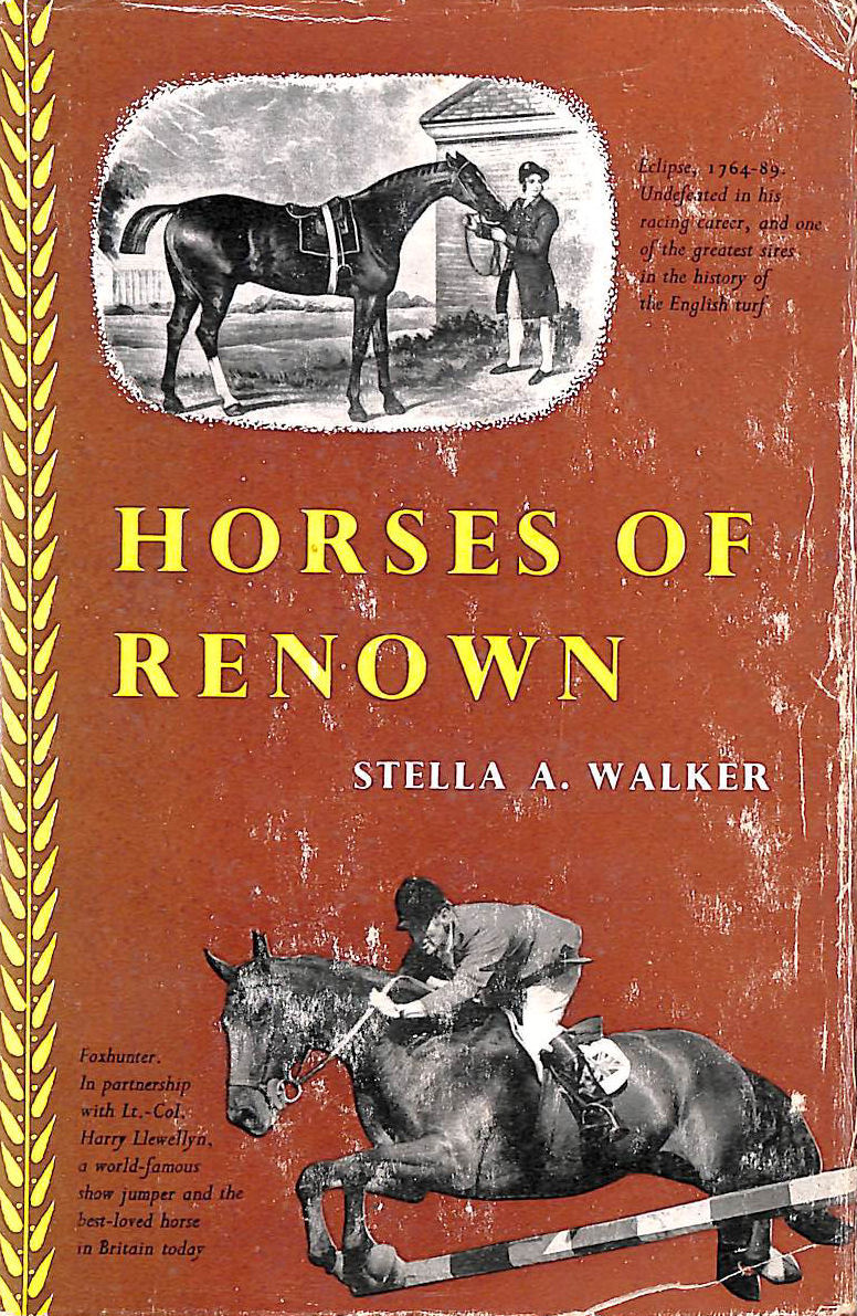 Image for Horses of renown