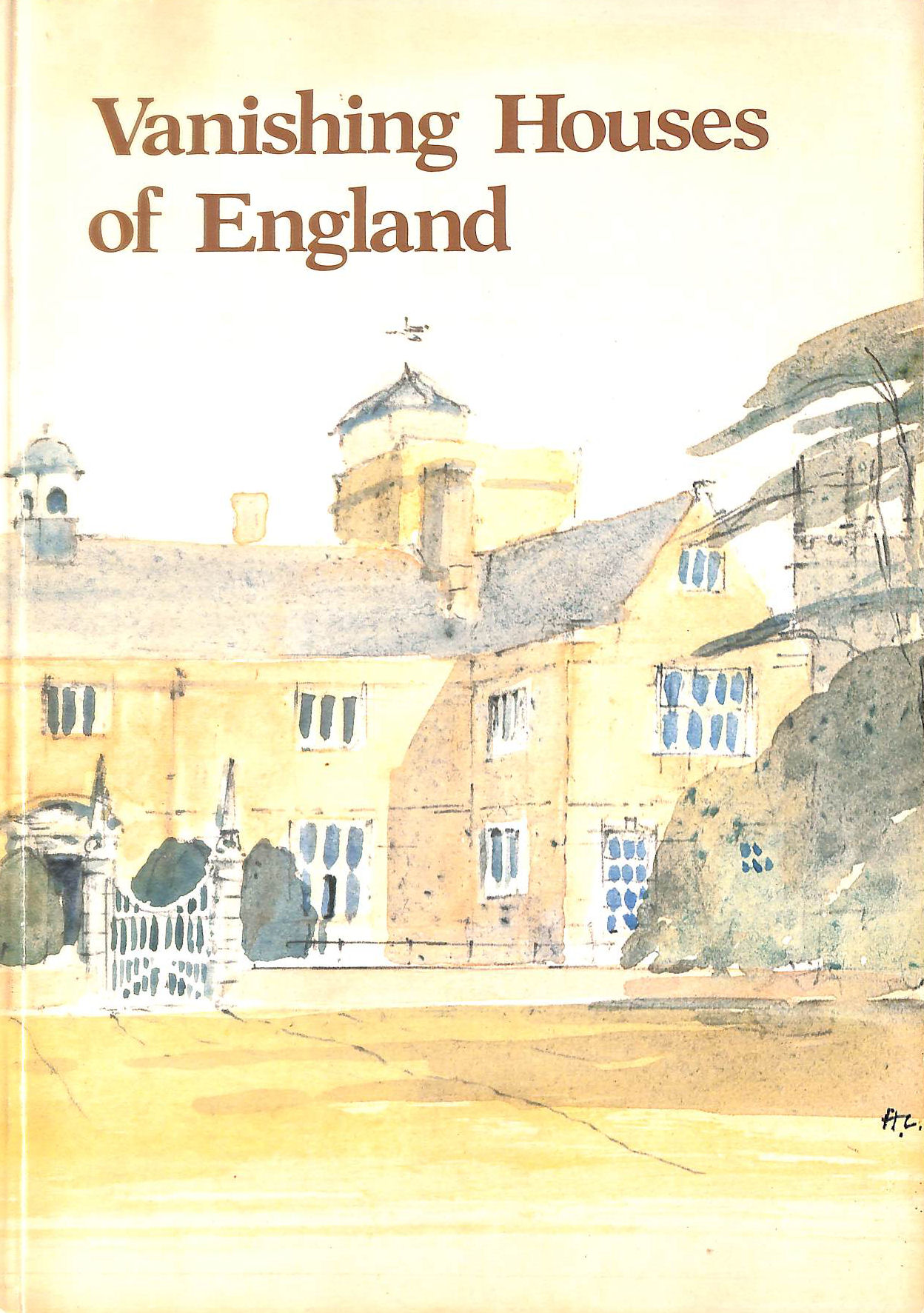 Image for Vanishing Houses of England - A Pictorial Documentary of Lost Country Houses
