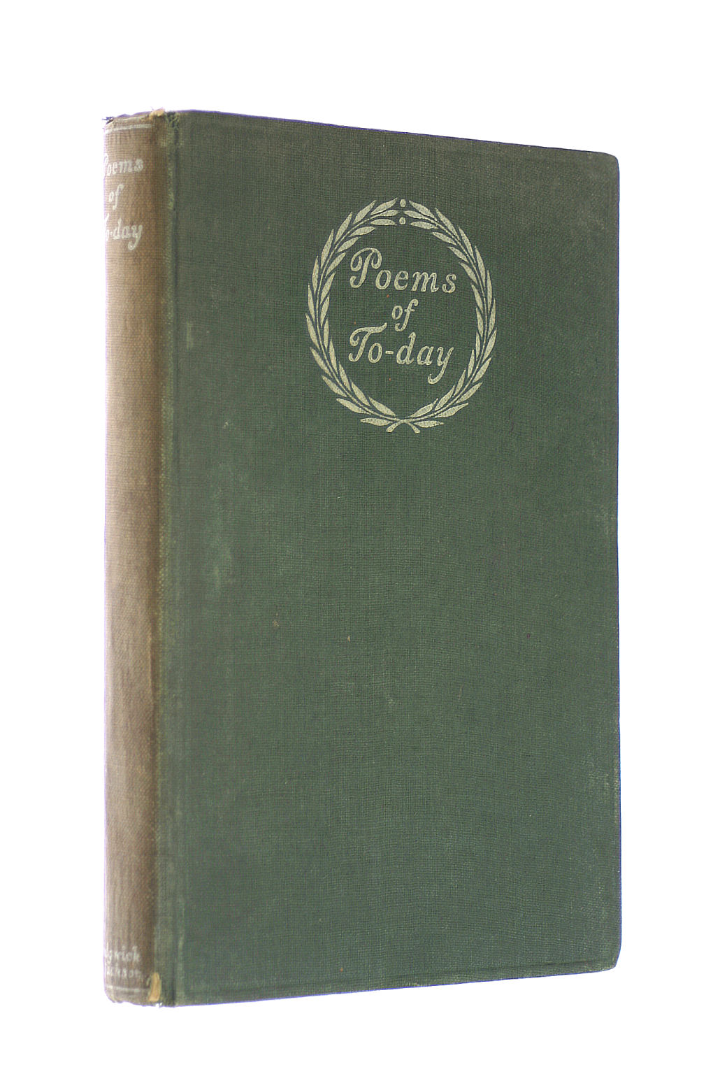 Image for Poems of Today: an Anthology
