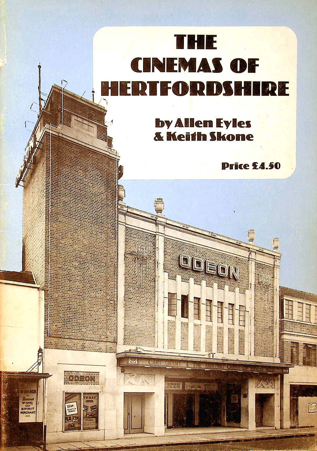 Image for The Cinemas of Hertfordshire