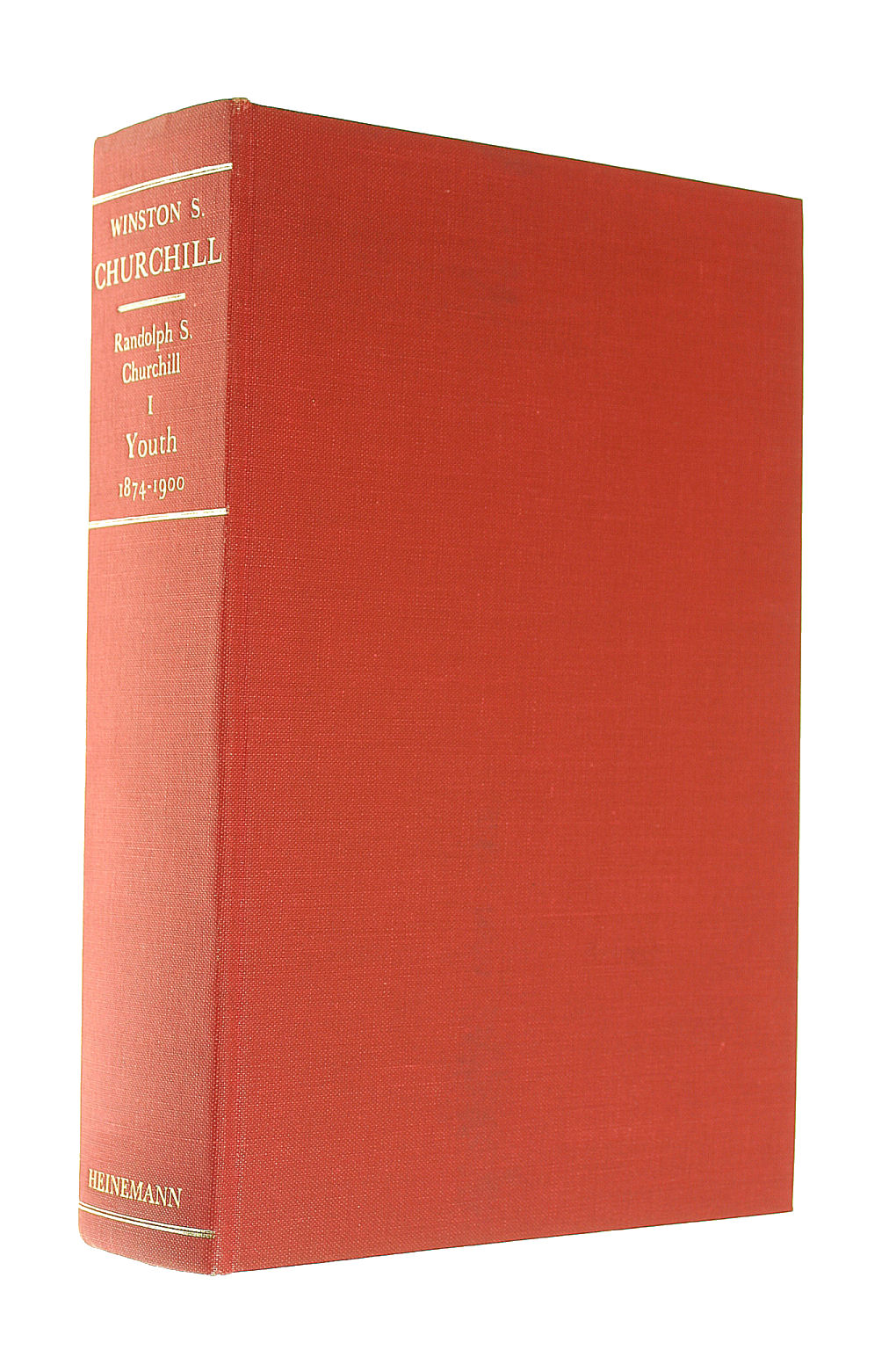 Image for Winston S Churchill, Vol. 1: Youth, 1874-1900