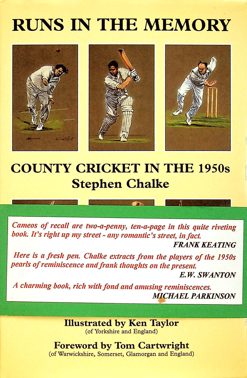 Image for Runs in the Memory: County Cricket in the 1950s