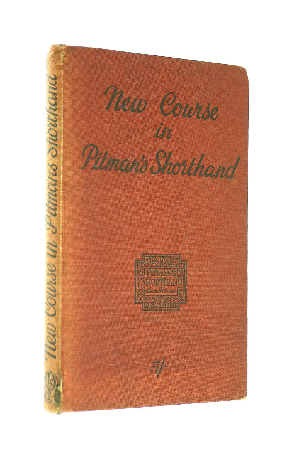 Image for New Course In Pitman'S Shorthand