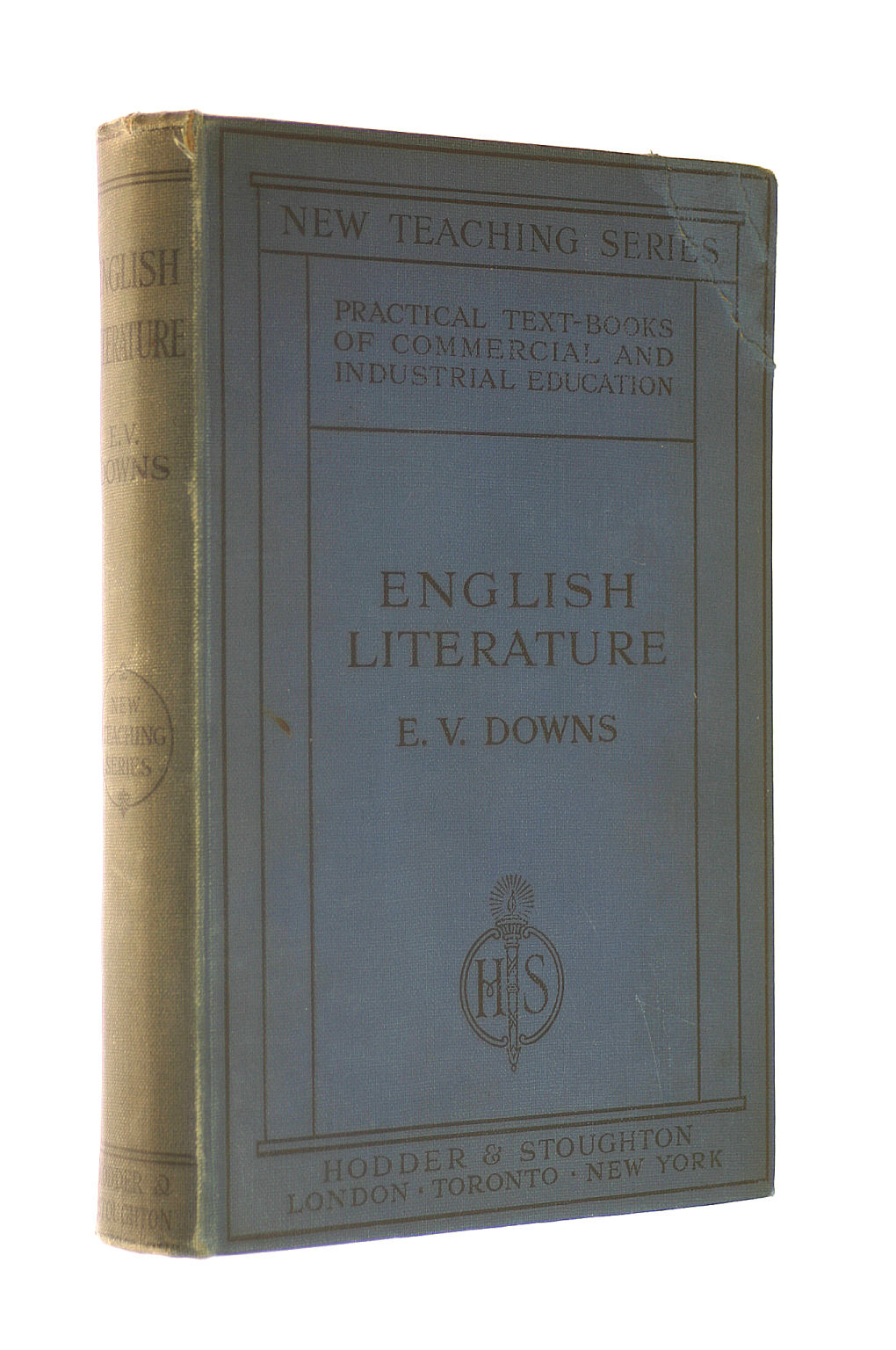 Image for English Literature: the Rudiments of Its Art and Craft