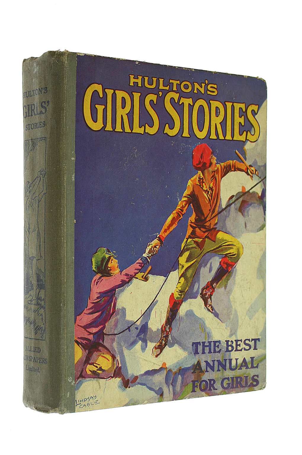 Image for Hulton's Girls' Stories ; the Best Annual for Girls