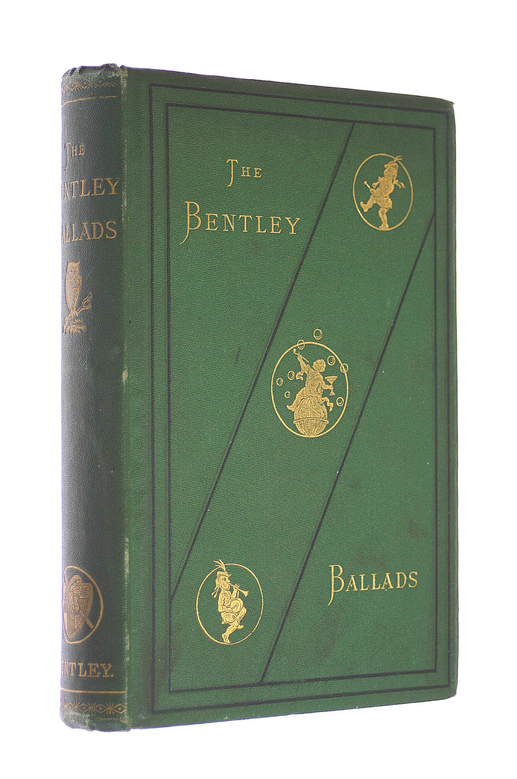"""Image for The Bentley Ballads, Comprising The Tipperary Hall Ballads, now first republished from """"Bentley's Miscellany,"""" (1846)"""