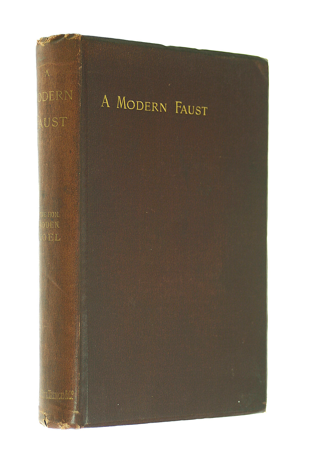 Image for A Modern Faust, and other poems