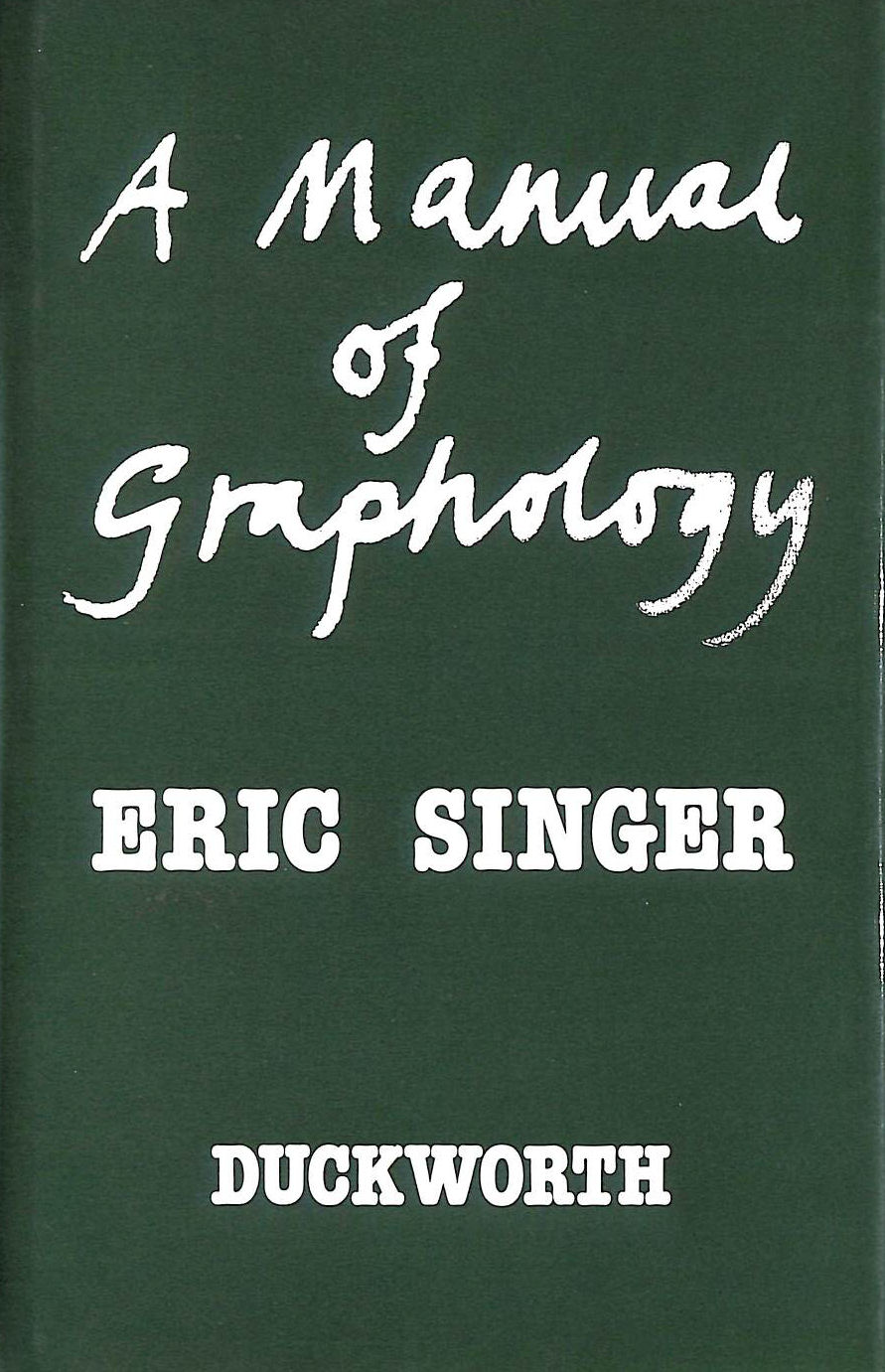 Image for Manual of Graphology