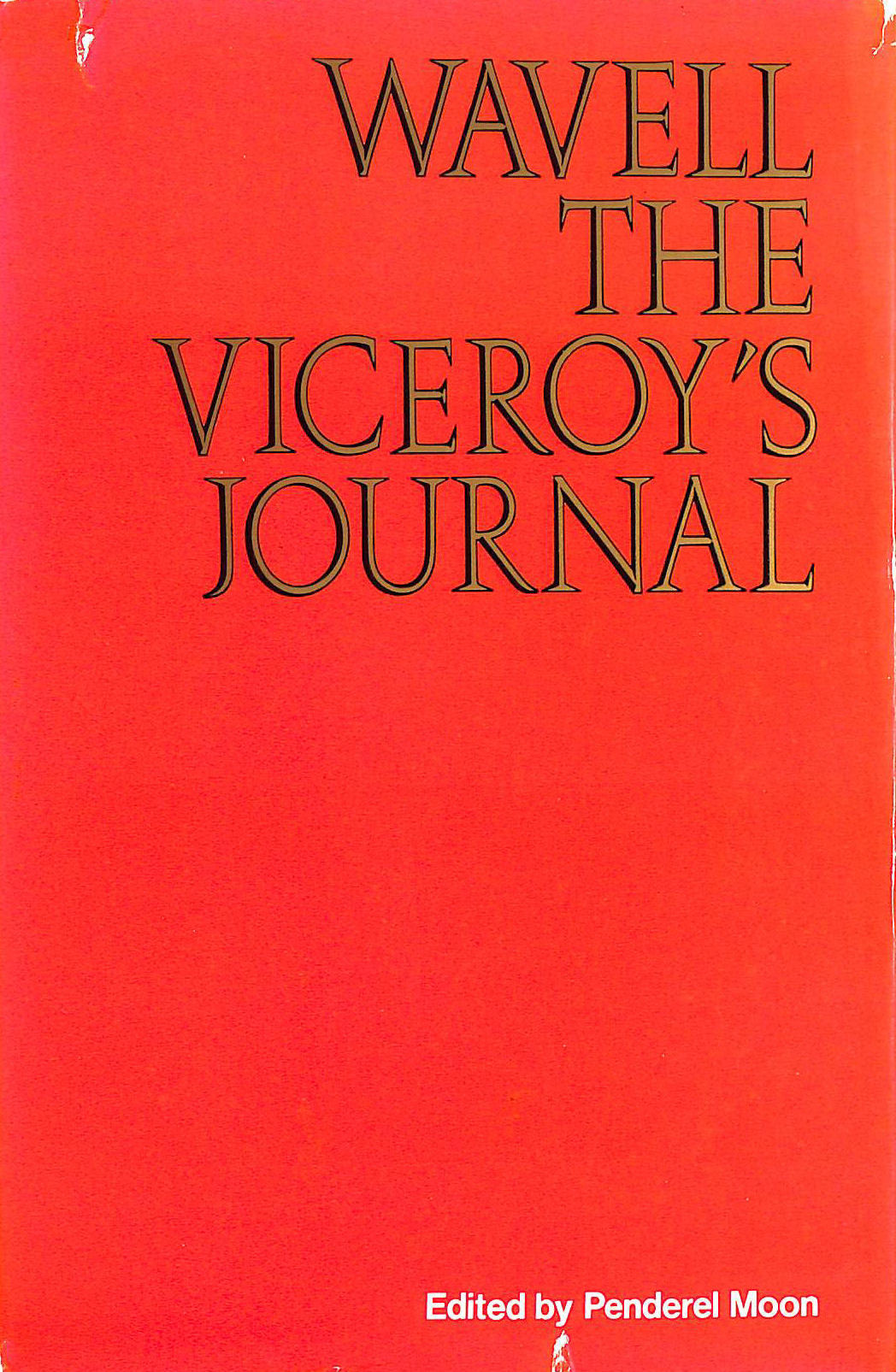 Image for Wavell: The Viceroy's Journal