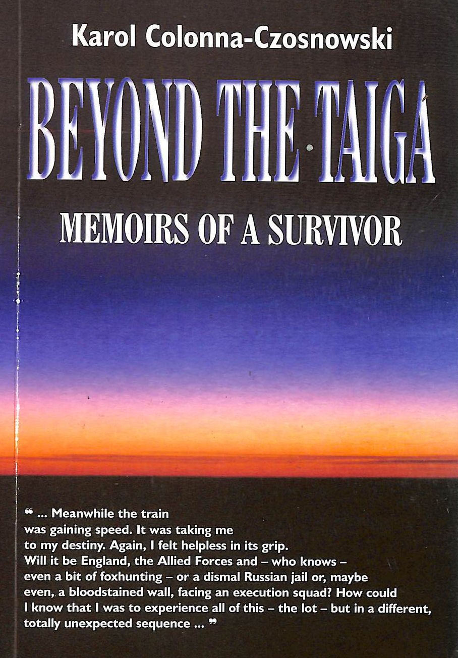 Image for Beyond the Taiga: Memoirs of a Survivor