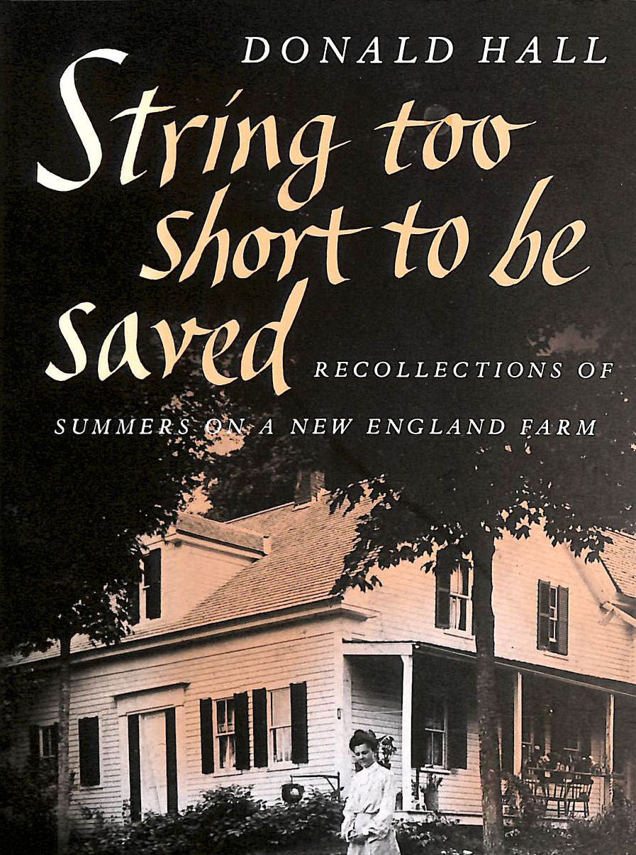 Image for A String Too Short to be Saved (Nonpareil Books)