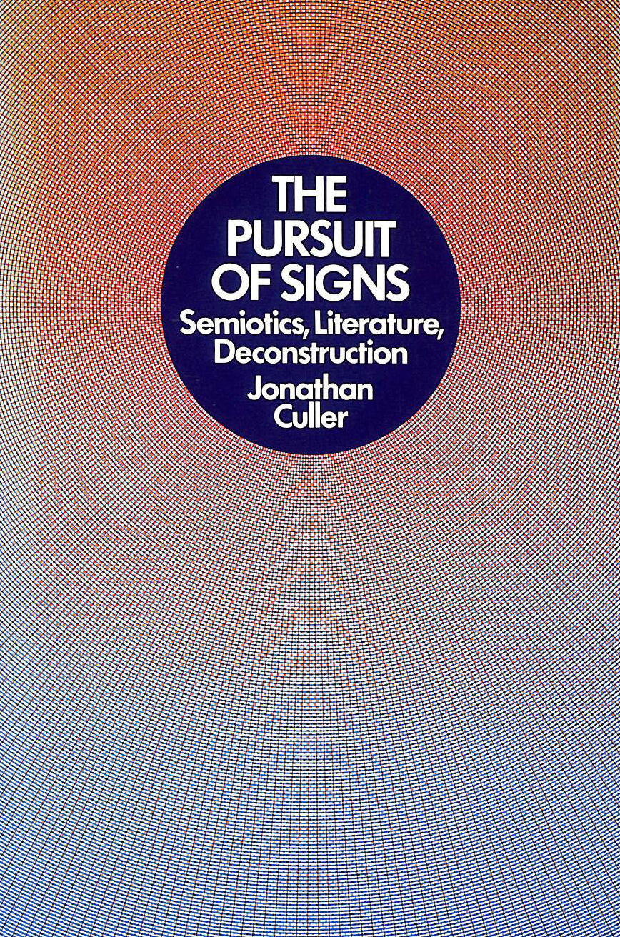 Image for Pursuit of Signs
