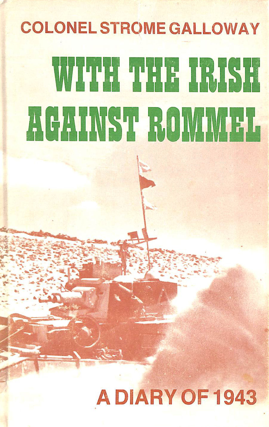 Image for With The Irish Against Rommel.