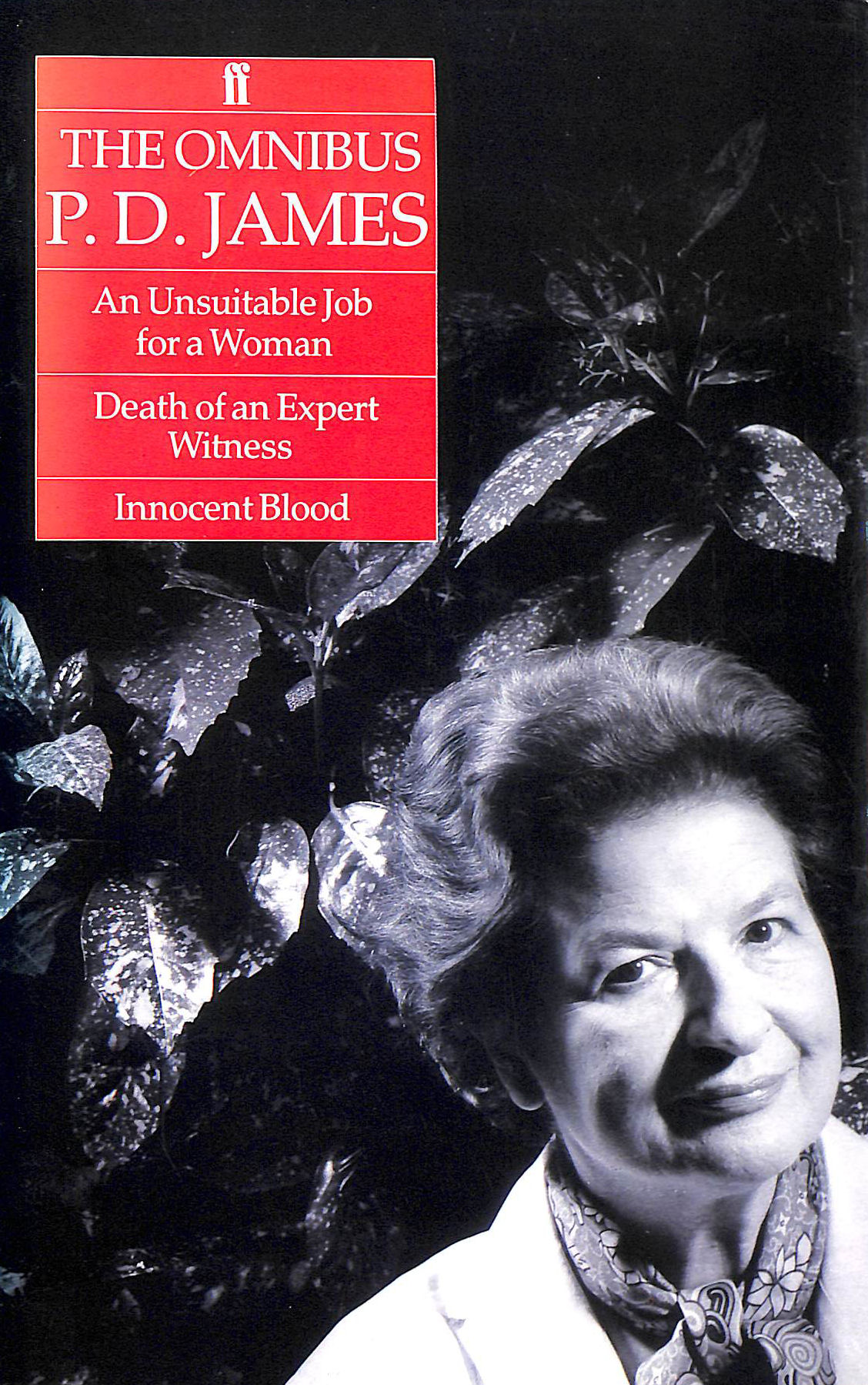 """Image for Omnibus P D James a: """"Unsuitable Job for a Woman"""", """"Death of an Expert Witness"""" and """"Innocent Blood"""""""