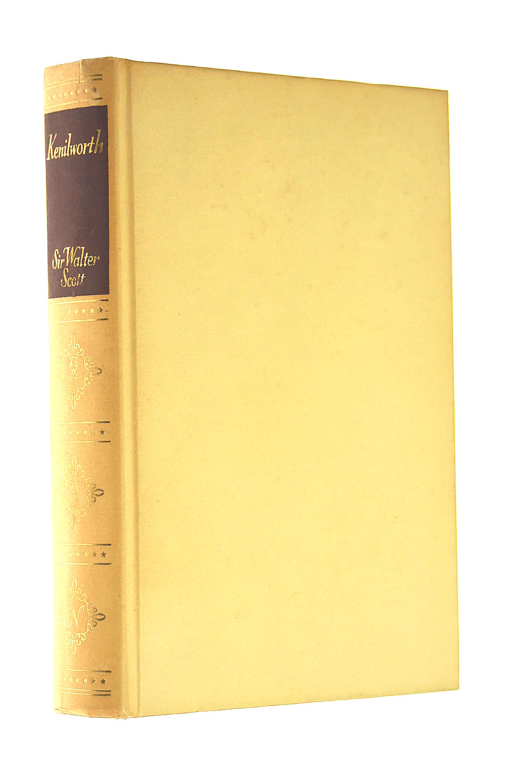 Image for KENILWORTH by Sir Walter Scott, Undated Hardcover, published by Thomas Nelson and Sons and Illustrated