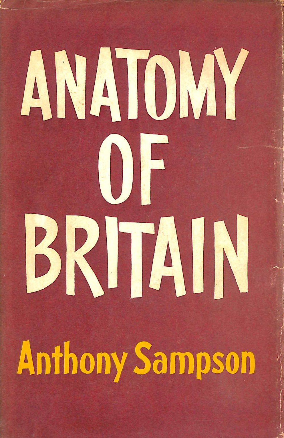 Image for Anatomy of Britain