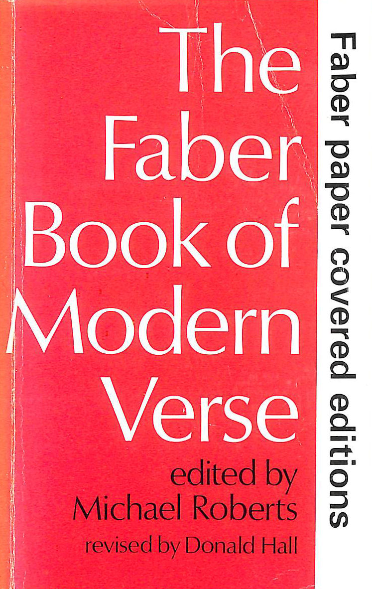 Image for Faber Book of Modern Verse