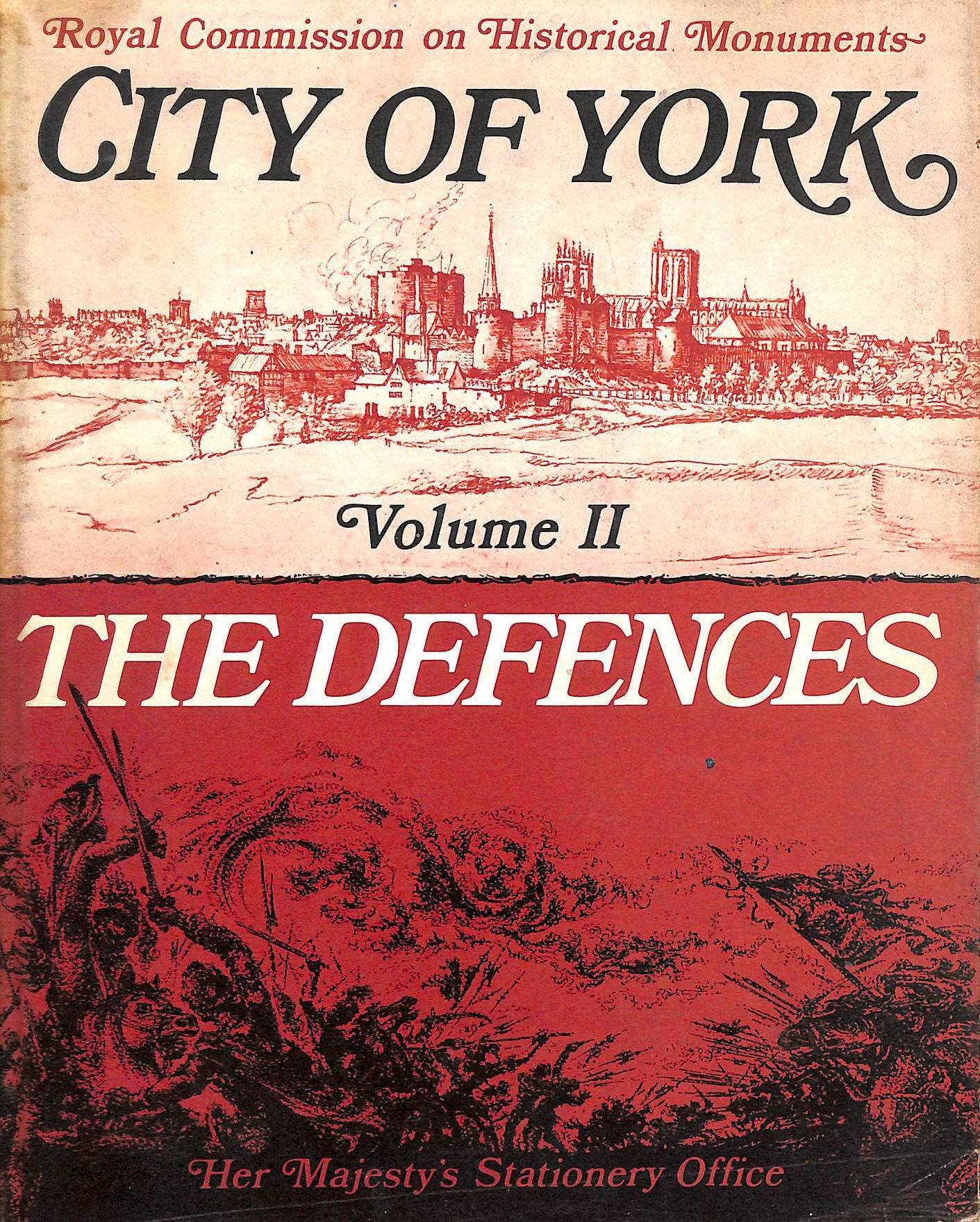 Image for Inventory of the Historical Monuments in the City of York: Volume 2 (II), The Defences