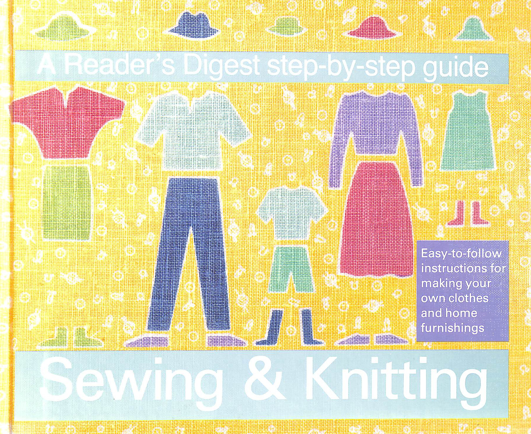 """Image for """"Reader's Digest"""" Step-by-step Guide to Sewing and Knitting"""