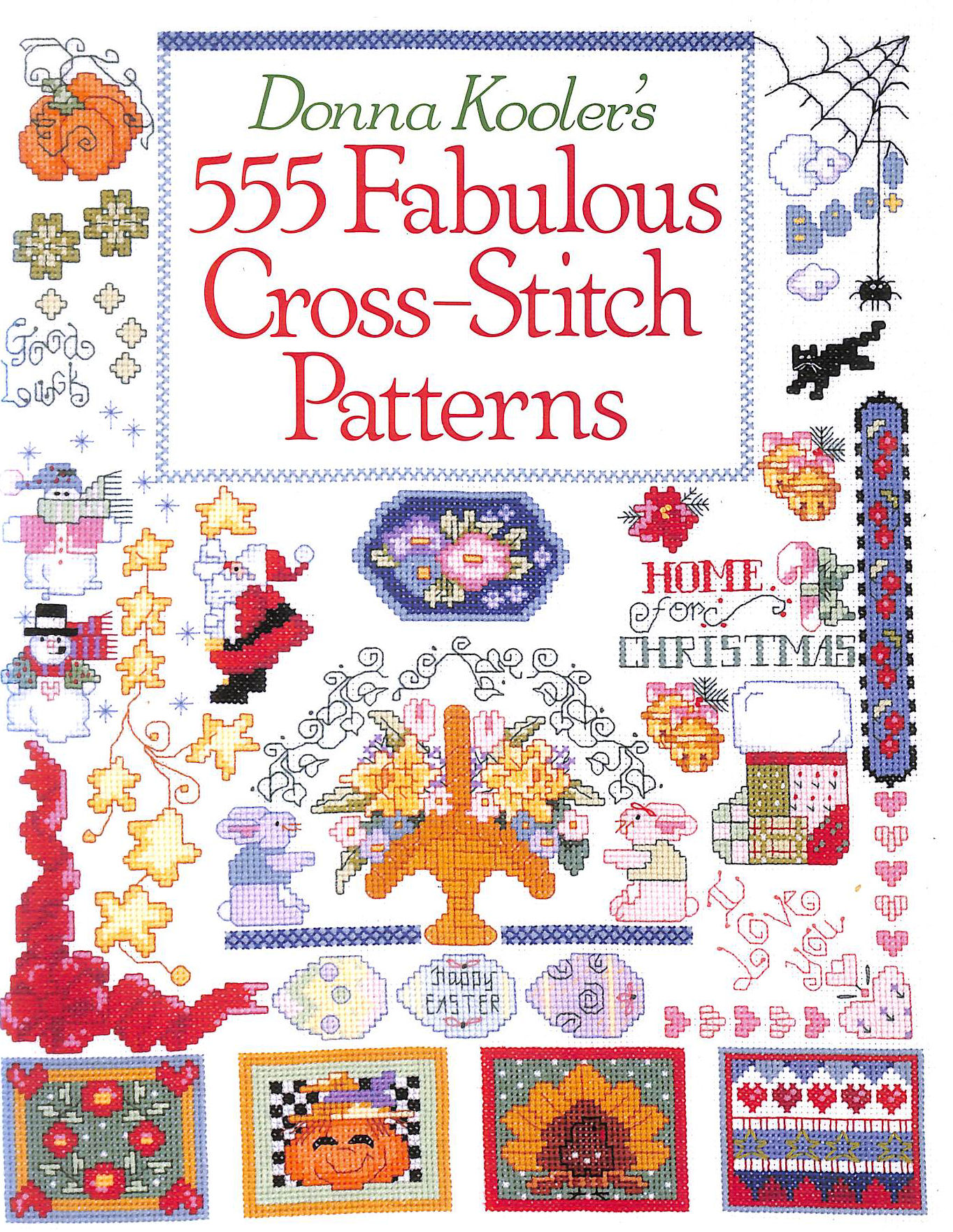 Image for Donna Kooler's 555 Fabulous Cross Stitch Patterns