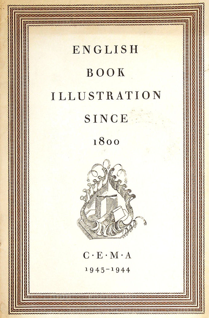 Image for English book illustration since 1800