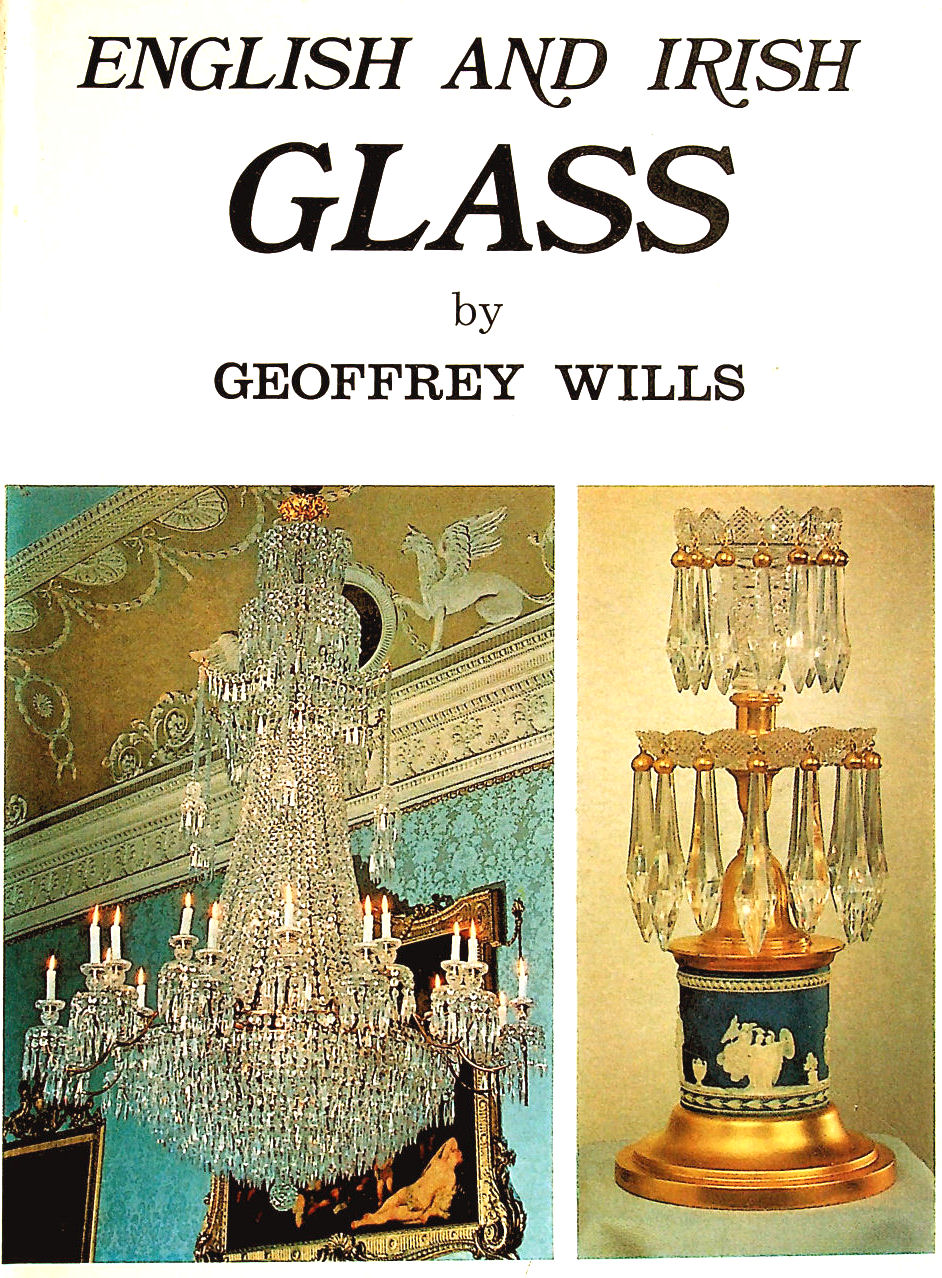 Image for English and Irish Glass. 16 volume set in one Hardback Book