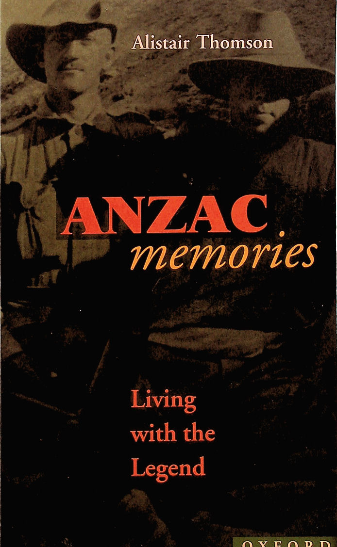Image for Anzac Memories: Living with the Legend