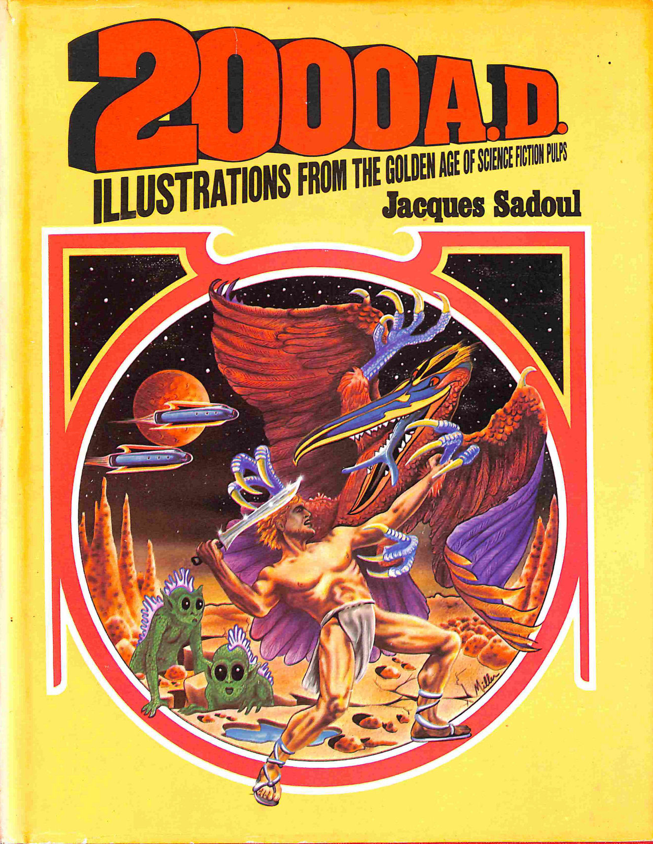 Image for 2000 AD Illustrations from the Golden Age of Scien