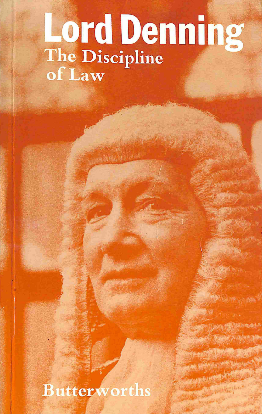 Image for Lord Denning: The Discipline of Law