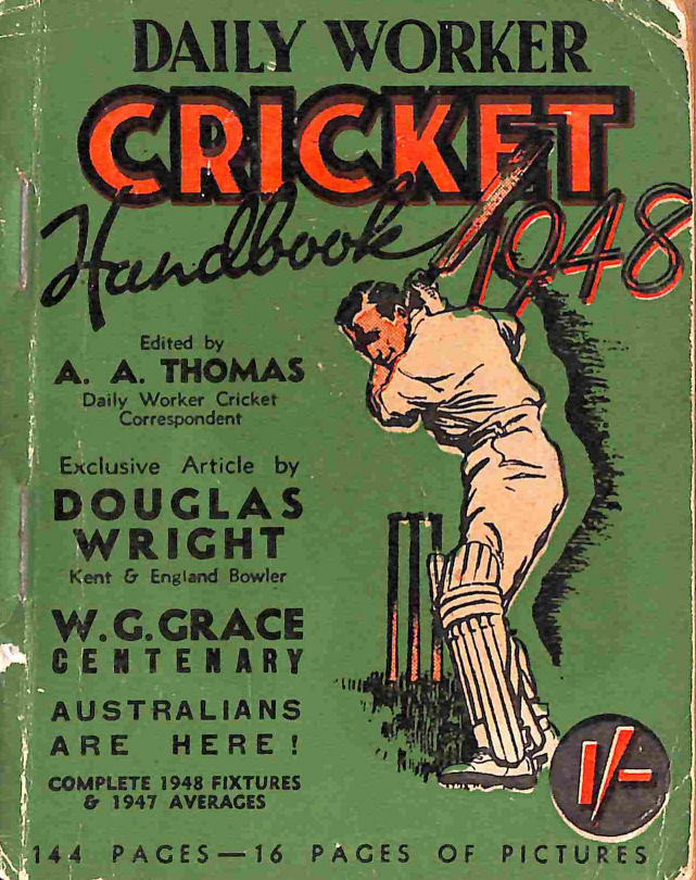 Image for Daily Worker Cricket Handbook 1948