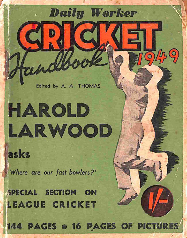Image for Daily Worker Cricket Handbook 1949