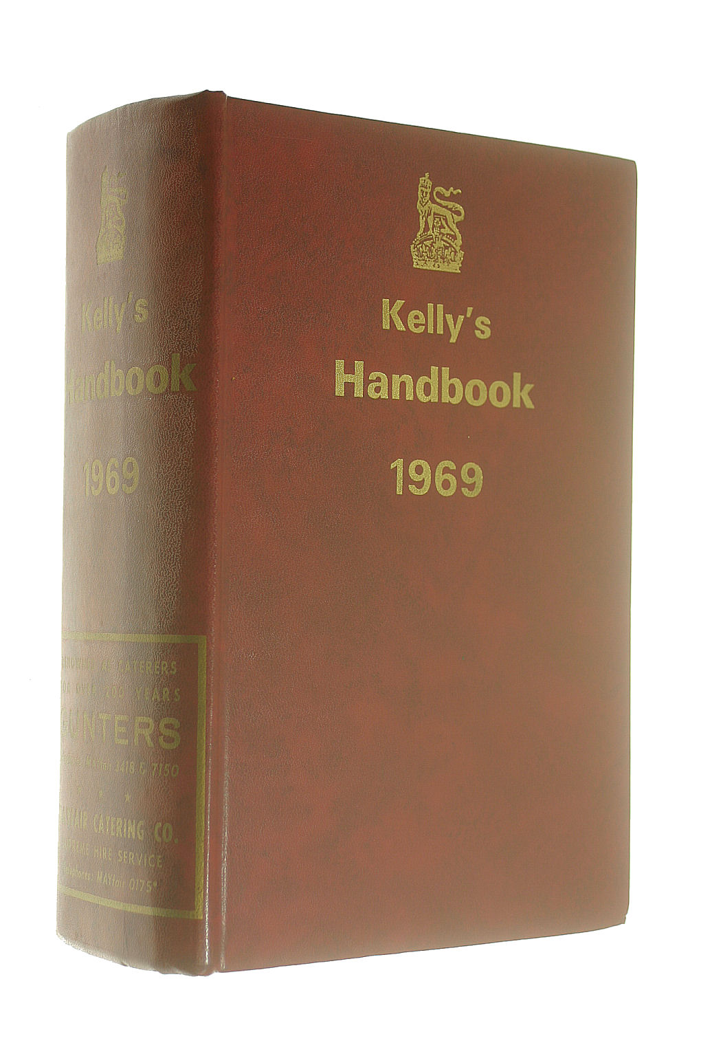 Image for Kelly's Handbook to the Titled, Landed and Official Classes 1969