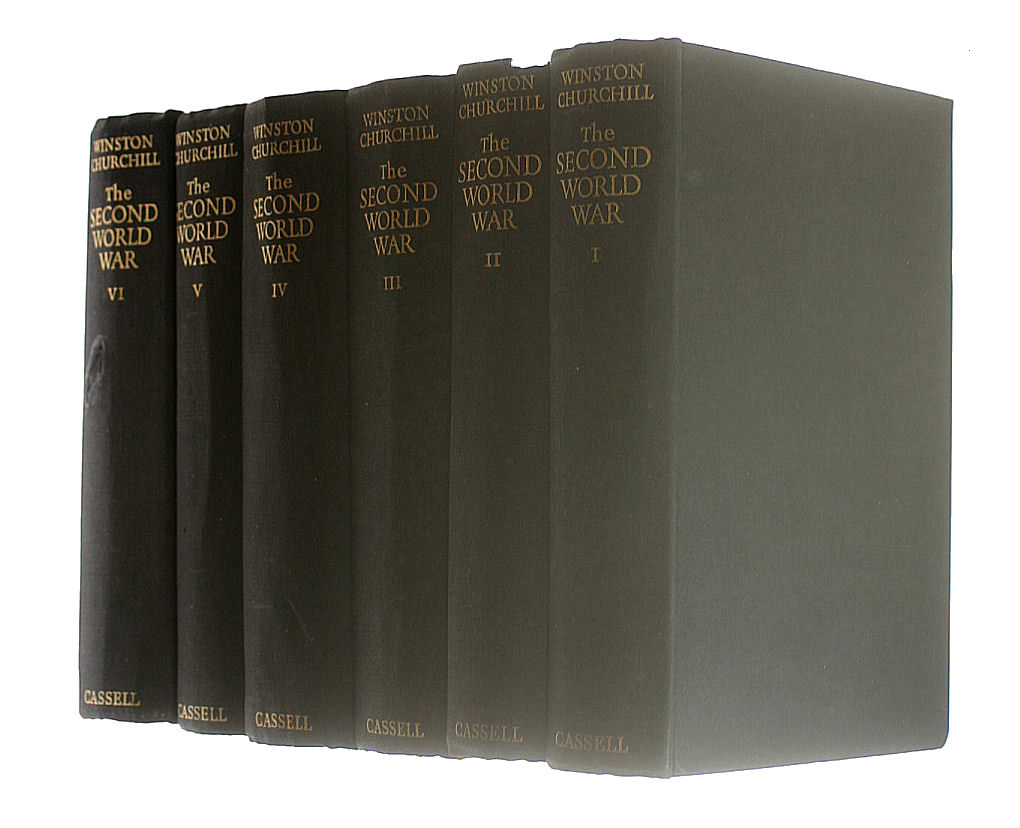 Image for The Second World War Set of 6 Volumes (4 first editions)